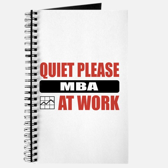 MBA Work Journal