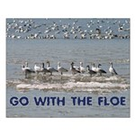 Snow Goose Small Poster (landscape)