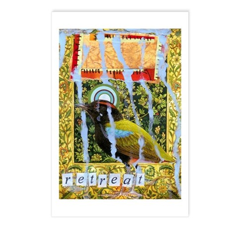 Retreat Postcards (package Of 8)