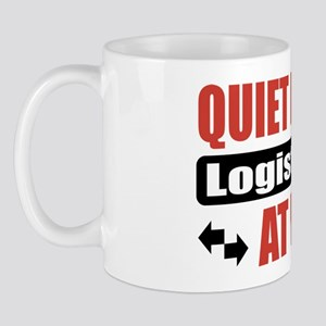 Logistician Work Mug