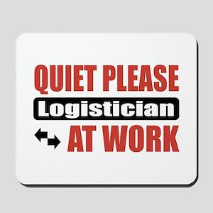 Logistician Work Mousepad