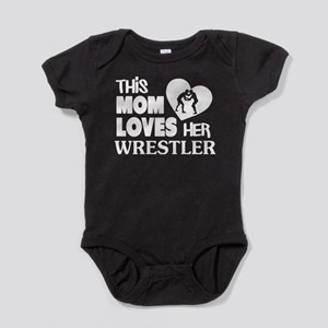 This Mom Love Her Wrestler T Shirt Body Suit