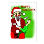 AUTOSANTA 5000 Postcards (Package of 8)