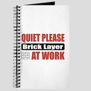 Brick Layer Work Journal