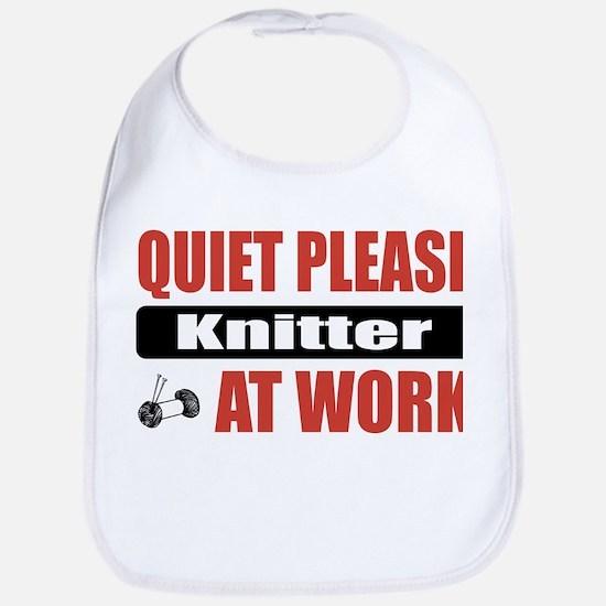 Knitter Work Bib