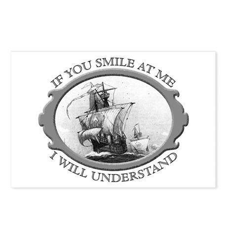"""""""If You Smile At Me"""" Postcards (Package of 8)"""