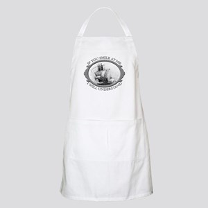 """""""If You Smile At Me"""" BBQ Apron"""