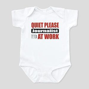 Journalist Work Infant Bodysuit