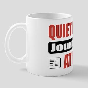 Journalist Work Mug