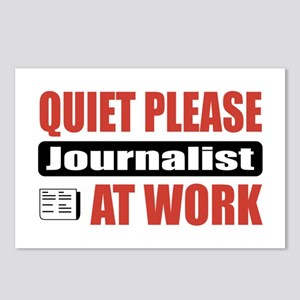 Journalist Work Postcards (Package of 8)