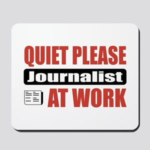 Journalist Work Mousepad