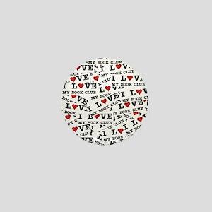 Peace Love McCain Palin Mini Button
