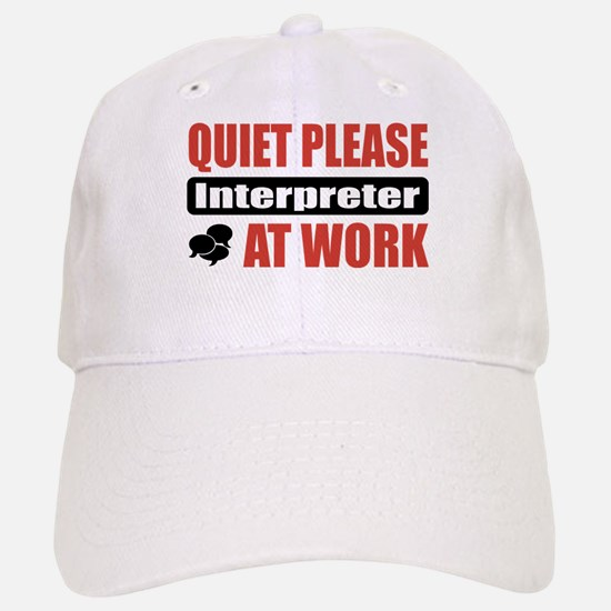 Interpreter Work Baseball Baseball Cap