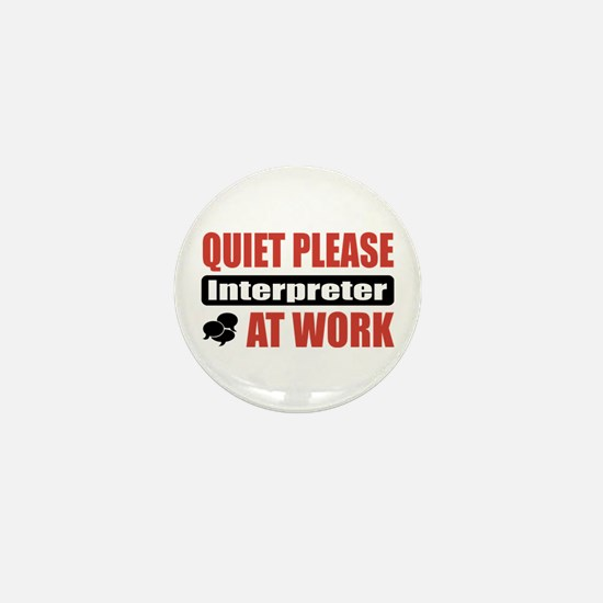 Interpreter Work Mini Button