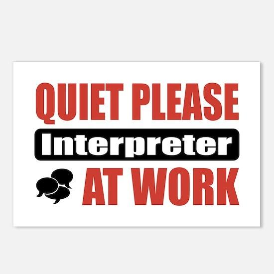 Interpreter Work Postcards (Package of 8)