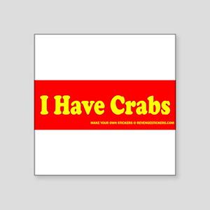 ihavecrabs Sticker