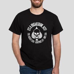 It's A Freakshow, Ace! Black T-Shirt