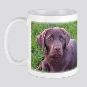 Strong Chocolate Lab Mug