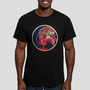 Doodle - Men's Fitted T-Shirt (dark)
