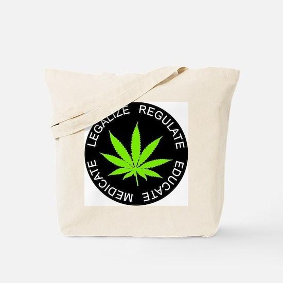 Cute Legalization Tote Bag