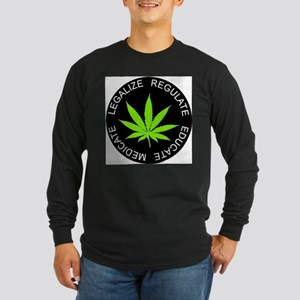 legalize round Long Sleeve T-Shirt