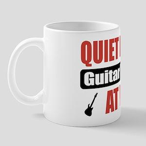 Guitar Player Work Mug