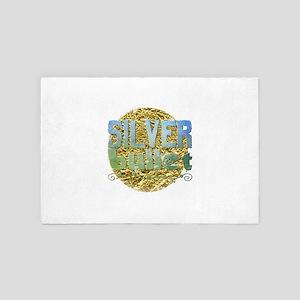 silver bullet 4' x 6' Rug