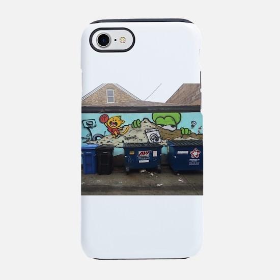 Chicago Graffiti iPhone 7 Tough Case