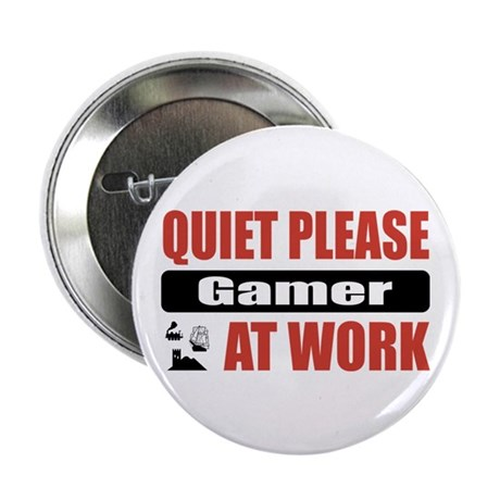 "Gamer Work 2.25"" Button (100 pack)"
