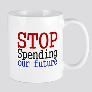 Stop Spending Our Future Mug