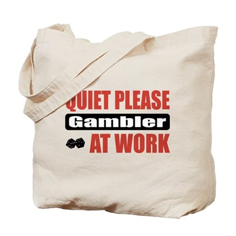Gambler Work Tote Bag