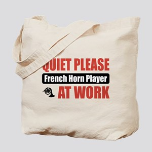 French Horn Player Work Tote Bag