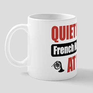 French Horn Player Work Mug