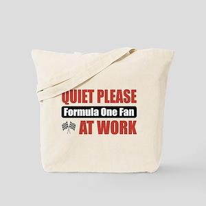 Formula One Fan Work Tote Bag