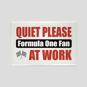 Formula One Fan Work Rectangle Magnet