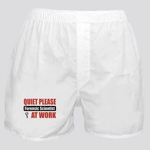 Forensic Scientist Work Boxer Shorts