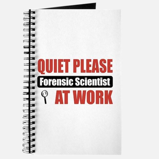 Forensic Scientist Work Journal