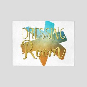 Dressing Room 5'x7'Area Rug