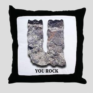You Rock - Throw Pillow