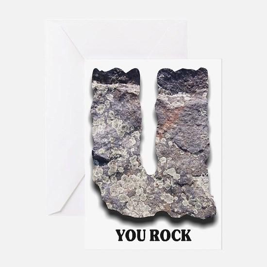 You Rock - Greeting Card