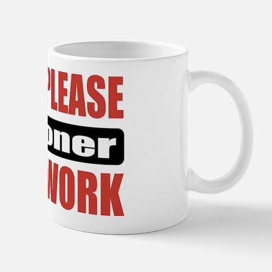 Falconer Work Mug