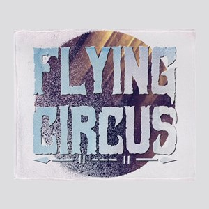 Flying Circus Throw Blanket