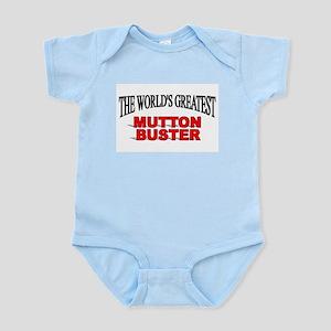"""The World's Greatest Mutton Buster"" Infant Bodysu"