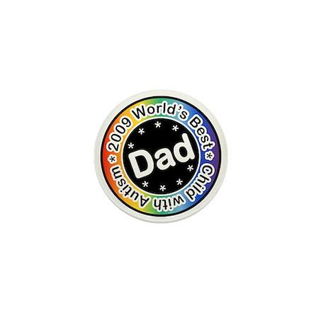 2009 World's Best Dad of Child with Autism Mini Bu