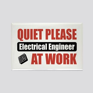 Electrical Engineer Work Rectangle Magnet