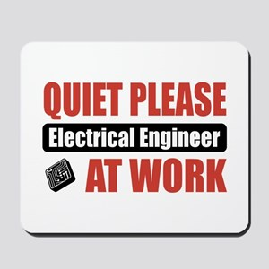 Electrical Engineer Work Mousepad