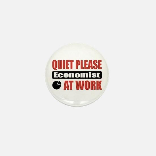 Economist Work Mini Button