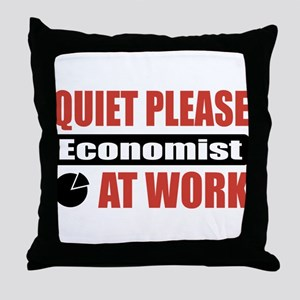 Economist Work Throw Pillow