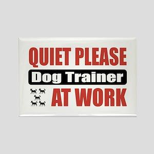 Dog Trainer Work Rectangle Magnet