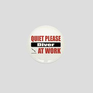 Diver Work Mini Button